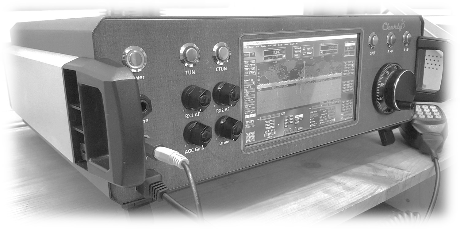 Homepage of the Charly25 SDR project | C25-SDR