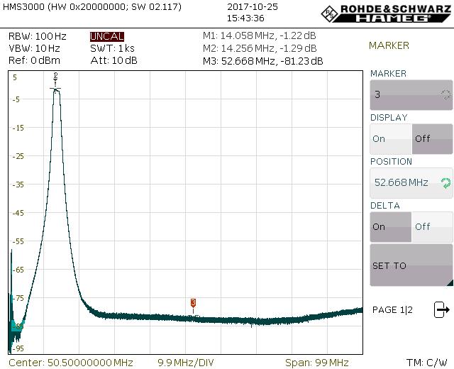 Rx Filter Board   C25-SDR